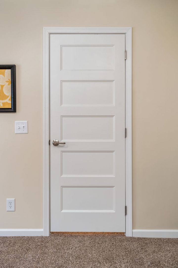 White 5-Panel Door | Commodore of Pennsylvania