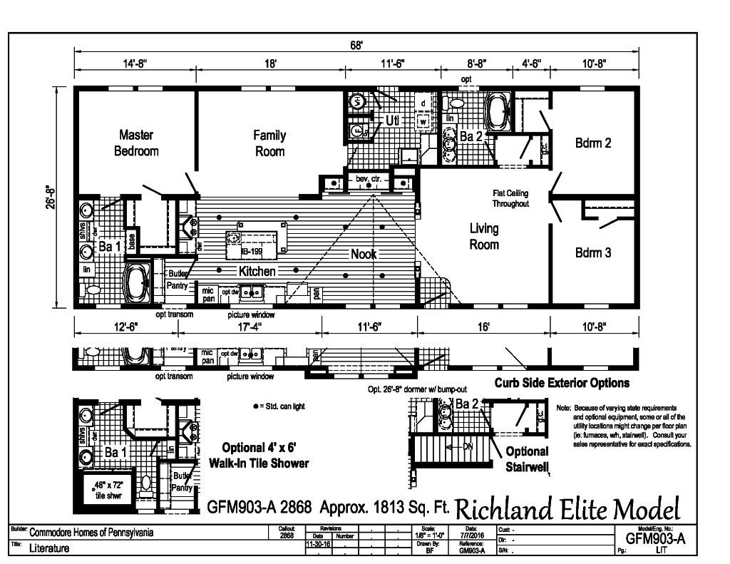 richland elite modulars -