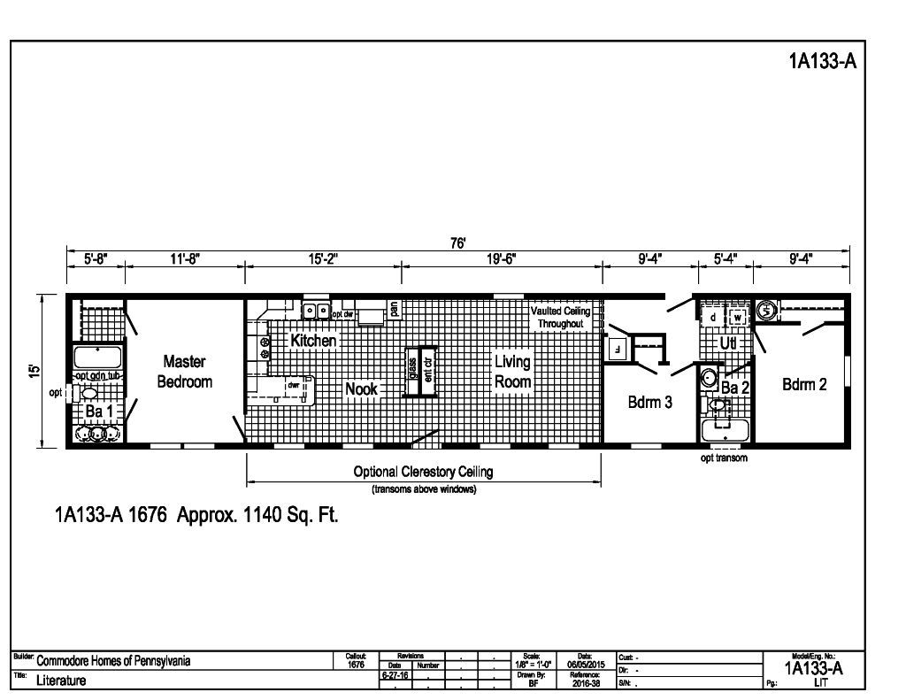 Astro Mobile Homes Floor Plans Home Plan