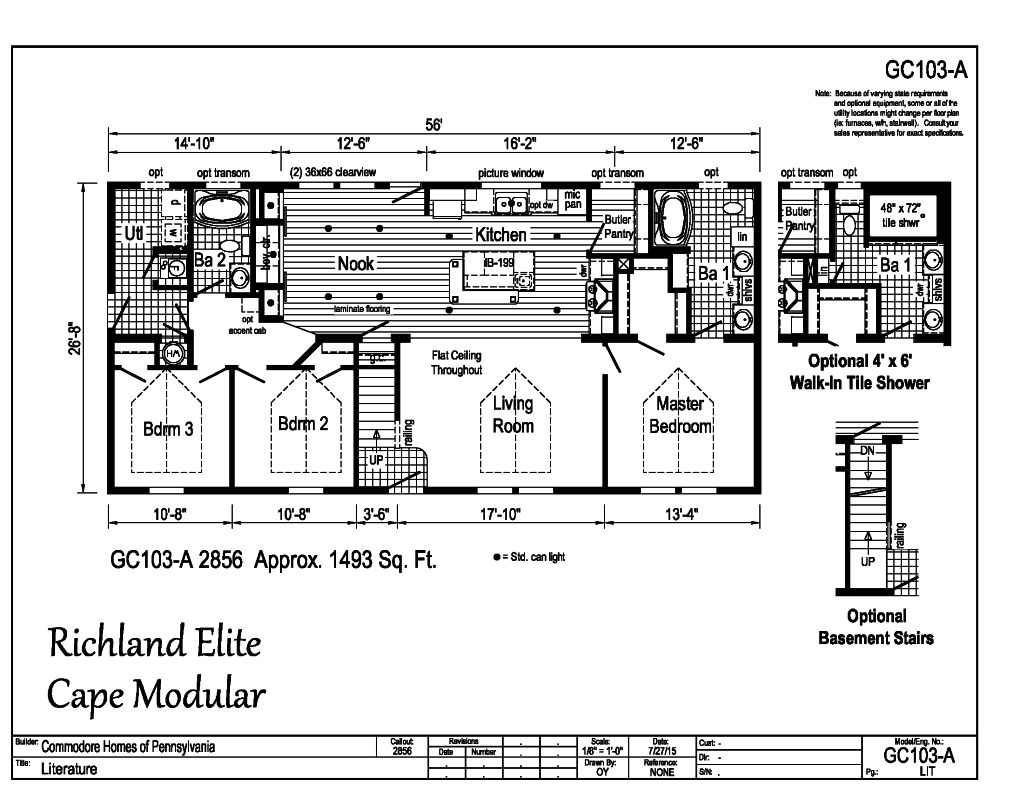 richland elite modulars -
