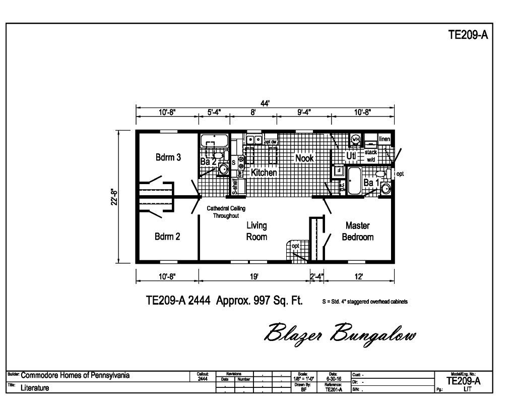 Commodore Mobile Home Electrical Wiring Plan Diagrams Double Wide Diagram 1995 Rough In Manufactured Pedestal